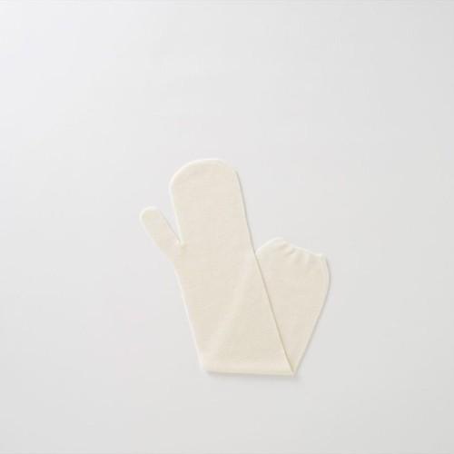 TAKEFU 無縫製ガーゼロング手袋キッズミトン