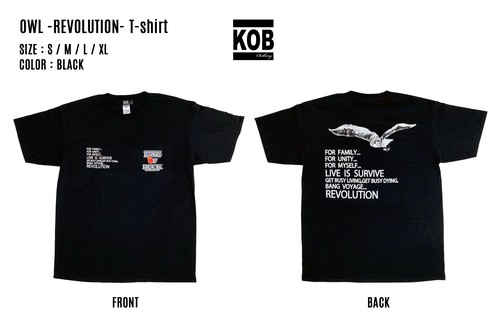 OWL -REVOLUTION- T-shirt