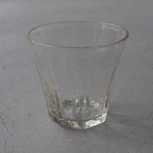安土草多 八角グラス 中