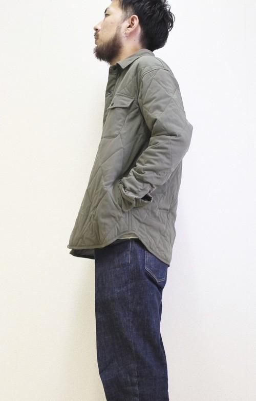 キルトシャツジャケット