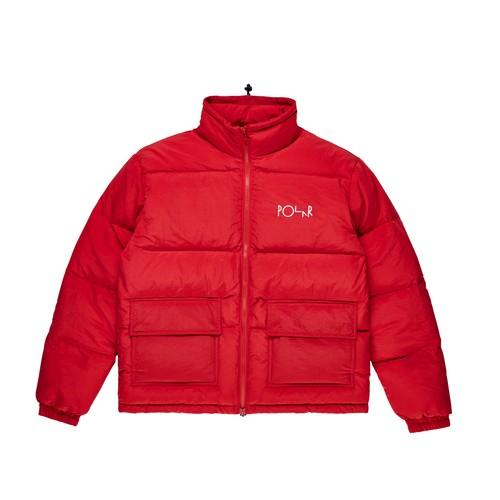 POLAR SKATE CO / POCKET PUFFER -RED-