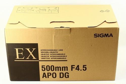 新品未使用品 SIGMAシグマ APO 500mm F4.5 EX DG PENTAX ペンタックス 元箱付き/8925