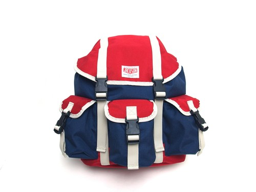 VINTAGE STYLE BACKPACK M116001 NAVY