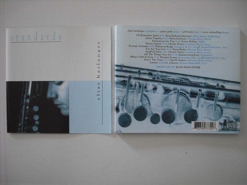 【CD】ELIAS HASLANGER / STANDARDS
