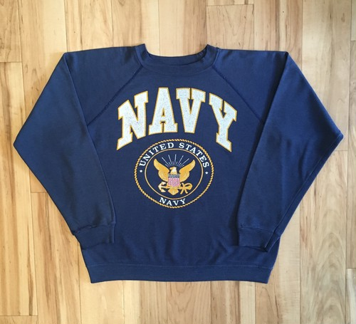 U.S. NAVY Ragulan Sleeve Sweat