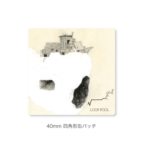 2nd Album 「root」スクエア缶バッチ
