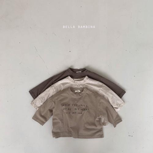 =sold out=logo T-shirt〈bella bambina〉