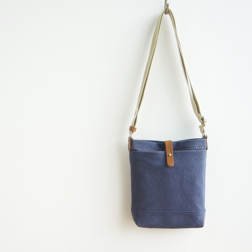CANVAS SHOULDER S / NAVY