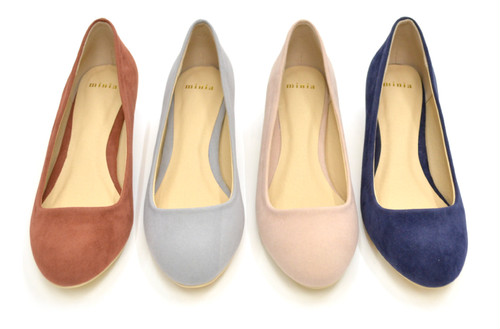 【minia】 Plain Pumps