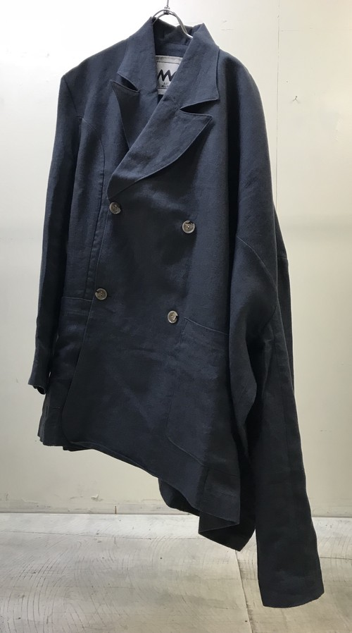 ALEX MULLINS WARPED DOUBLE BREASTED JACKET