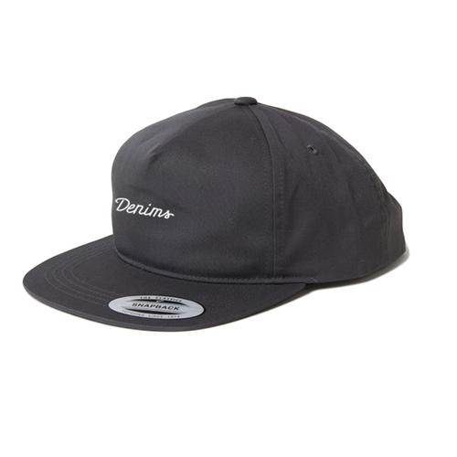 Snapback Cap (筆記体ロゴ)