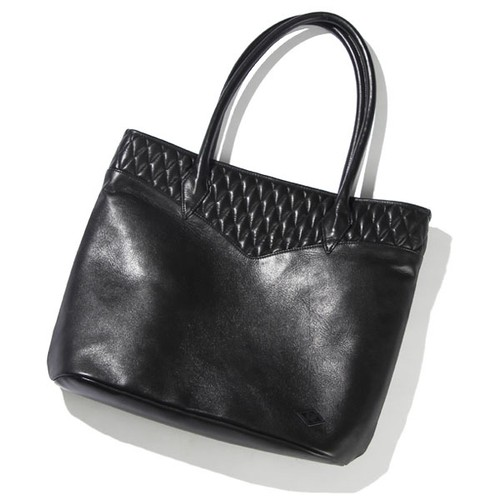 OUTSIDERS LEATHER TOTE BAG / RUDE GALLERY BLACK REBEL