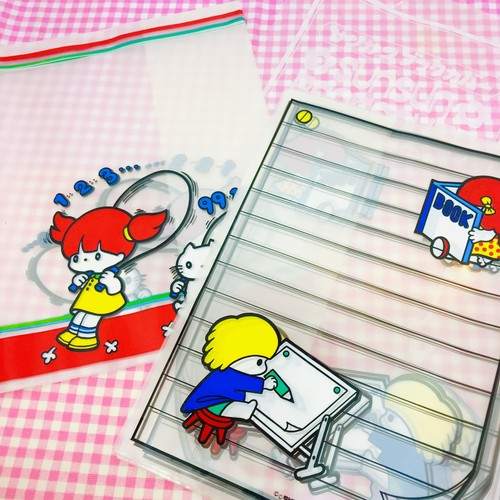 デッドストック☆ビニールブックカバー5枚入☆