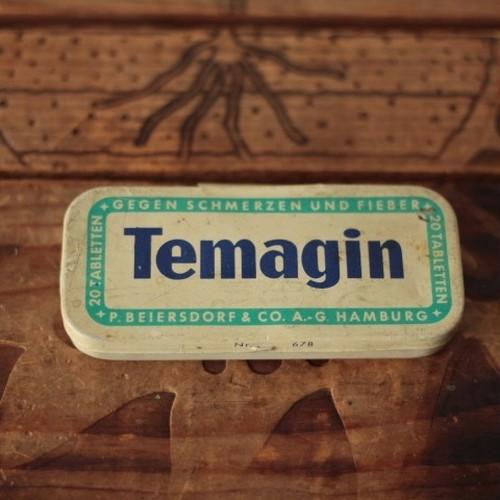 ドイツ ヴィンテージ Temagin ティン缶/tin缶
