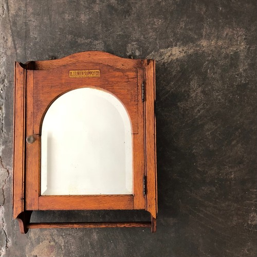 Vintage Wooden wall rack