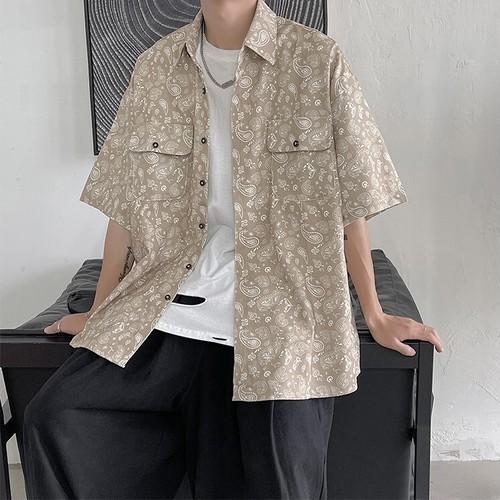 ペイズリーサマーシャツ BL8591