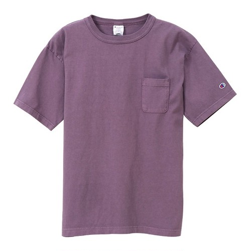 Champion / チャンピオン |【SALE!!】T1011 USA T-Shirt with Pocket / ダルパープル