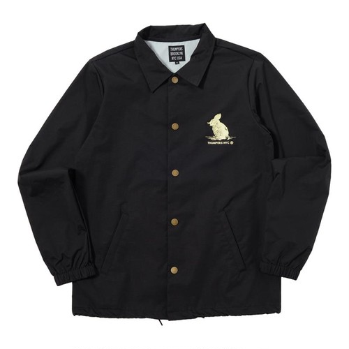 WE'RE NOT OUT OF THE WOOD COACHES JACKET (BLACK) [TH-17AW-081]