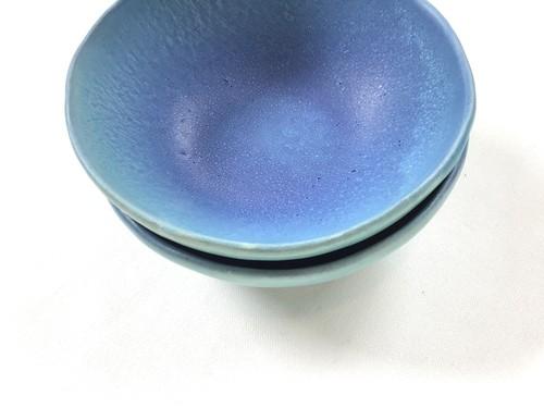 陶器 ターコイズ ボール鉢