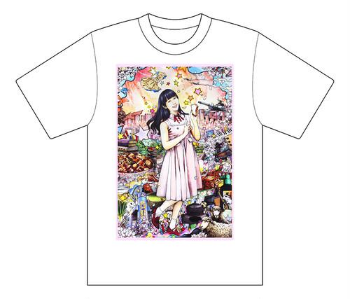 IDOL GRAPHICS Tシャツ:岡田夢以(転校少女歌撃団)