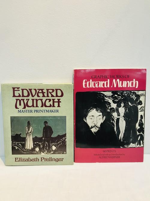 EDVARD MUNCH ムンク 2冊