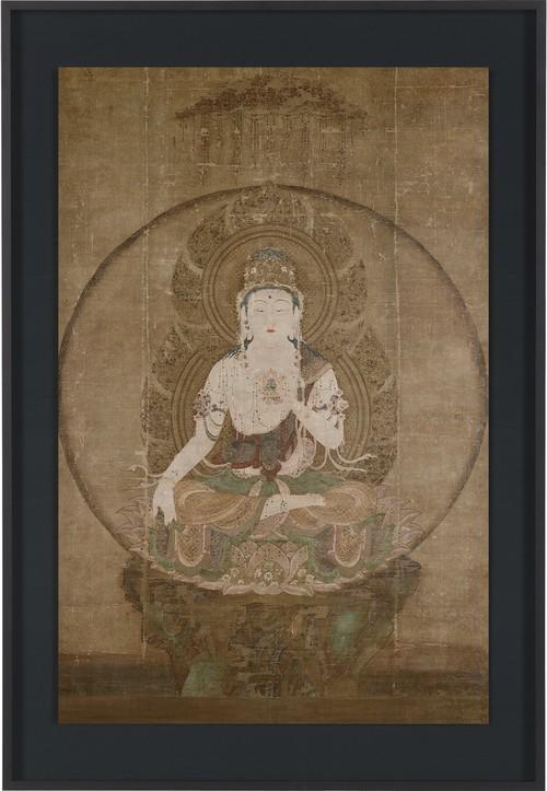 国宝「虚空蔵菩薩像」アールプレシ