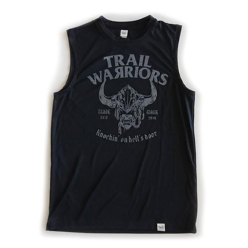 Sleeveless Shirt / TW / Black