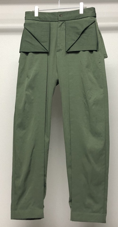 CHALAYAN ORIGAMI POCKET TROUSERS