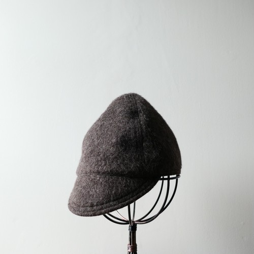 ST-wool CAP (Dark Brown)