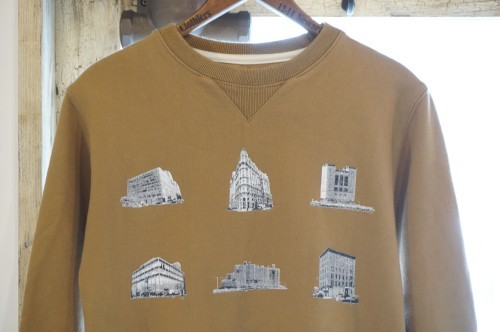 SATURDAYS SURF NYC Bowery buildings print Sweat