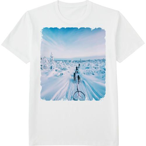 68.Finland100 Tシャツ / 銀世界へ