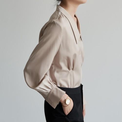 サテンフレンチシャツ ・2754