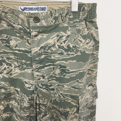 LIKE THIS LIKE THAT : 「US.ABU」digital tiger camo cropped trousers (remake)