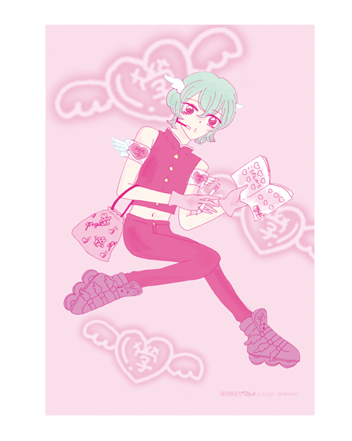 g-Angel♡ポストカード