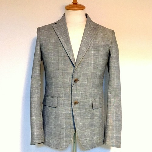 RIRANCHA Set Up Glen Check Jacket Glen Check