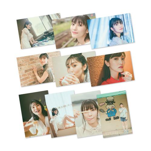 古賀葵 1st PHOTO BOOK「あおいろ。」【ランダムブロマイド(全10種)】
