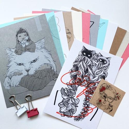 月だけカレンダー【保護猫寄付金対象商品】