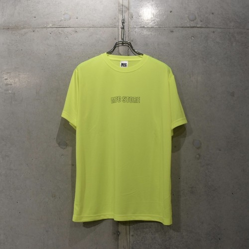MFC STORE SPORTS OL SLIDE LOGO TEE / YELLOW