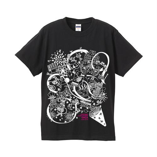 オーカTシャツ 2016モデル 黒 サイズXXL~XXXL(B-2016)
