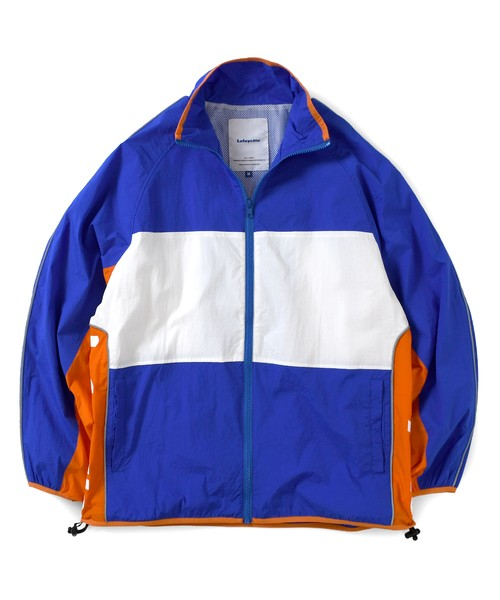 Lafayette COLORBLOCK NYLON TRACK JACKET / ROYAL