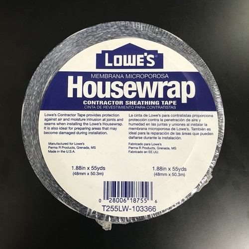 LOWE'S HOUSEWRAP(梱包テープ)