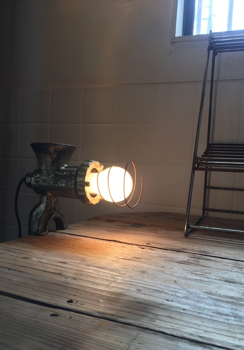ミキサーのランプ