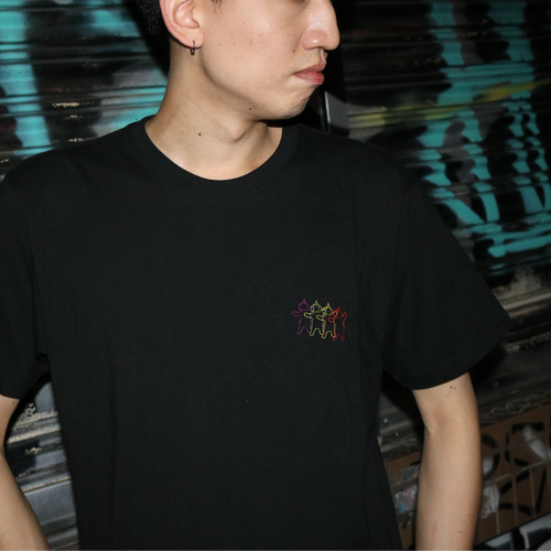 "TV Alien ""Embroidery"" Tシャツ"