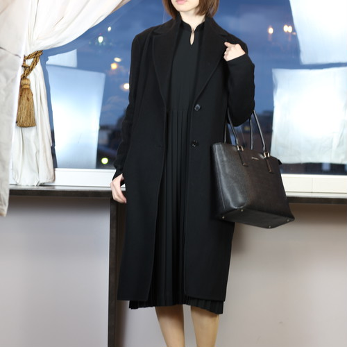.LOEWE CASHMERE BREND WOOL CHESTERFIELD COAT MADE IN ITALY/ロエベカシミヤ混ウールチェスターフィールドコート 2000000039886