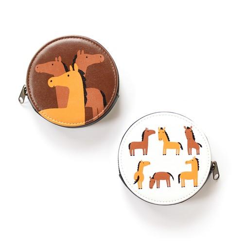 馬 コインケース