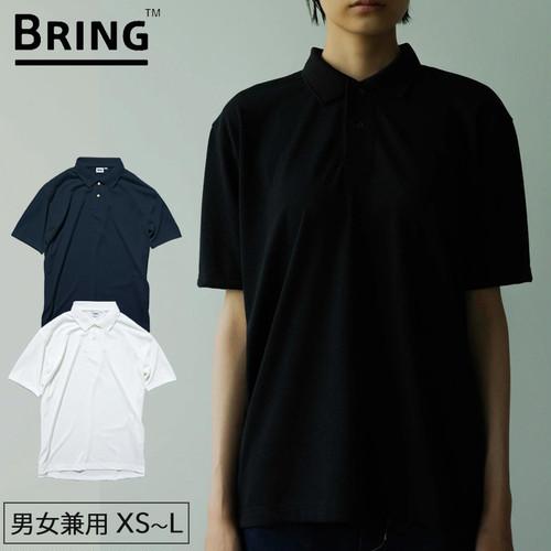BRING(ブリング) DRYCOTTONY Polo Shirt ポロシャツ 半袖 ユニセックス アウトドア 用品 キャンプ グッズ