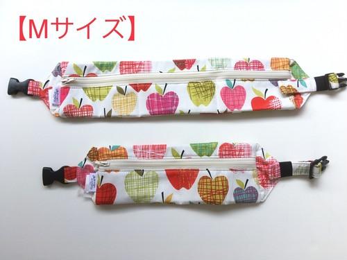 【Mサイズ】クールネックカラー*りんご