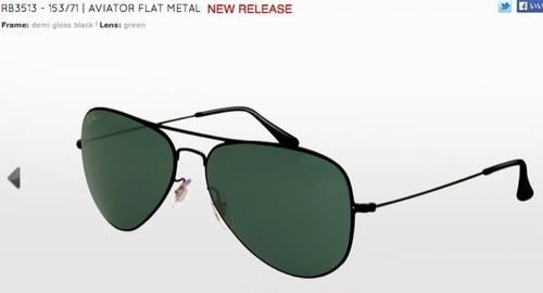 RB3513/AVIATOR FLAT METAL NEW RELEASE(アビエイター)