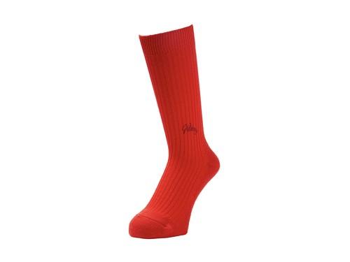 WHIMSY(ウィムジー) / EMJAY SOCKS -RED-