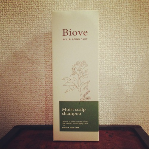 BIOVE Moist scalp shampoo